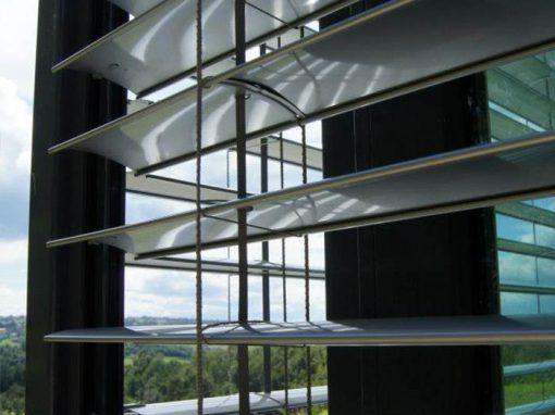 Żaluzje fasadowe – realizacje